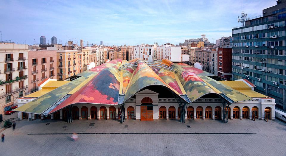 Рынок Санта-Катерина
