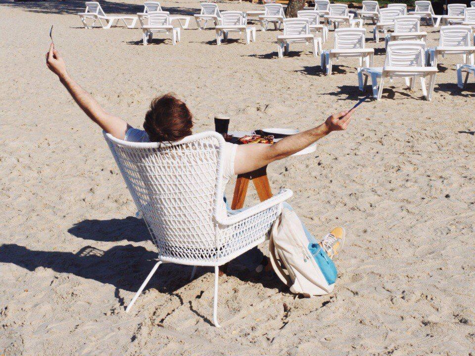 Пляж «Огонь-пляж»