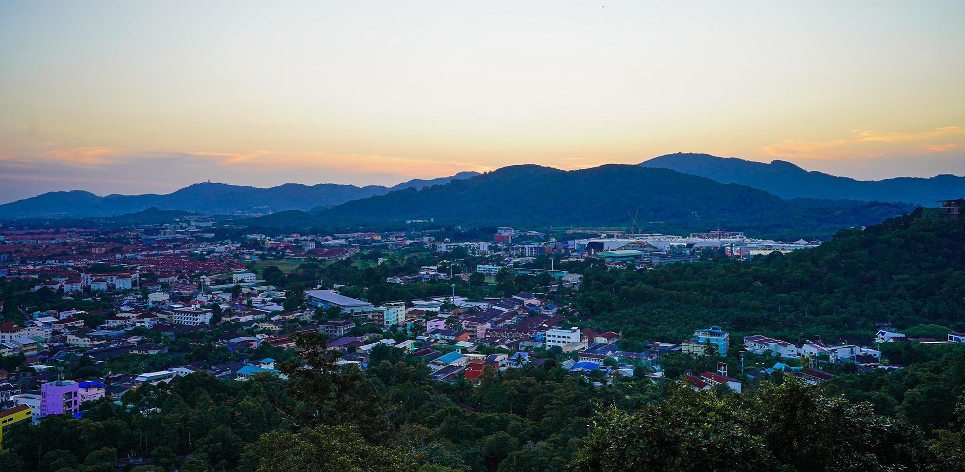 Смотровая площадка Rang Hill view point