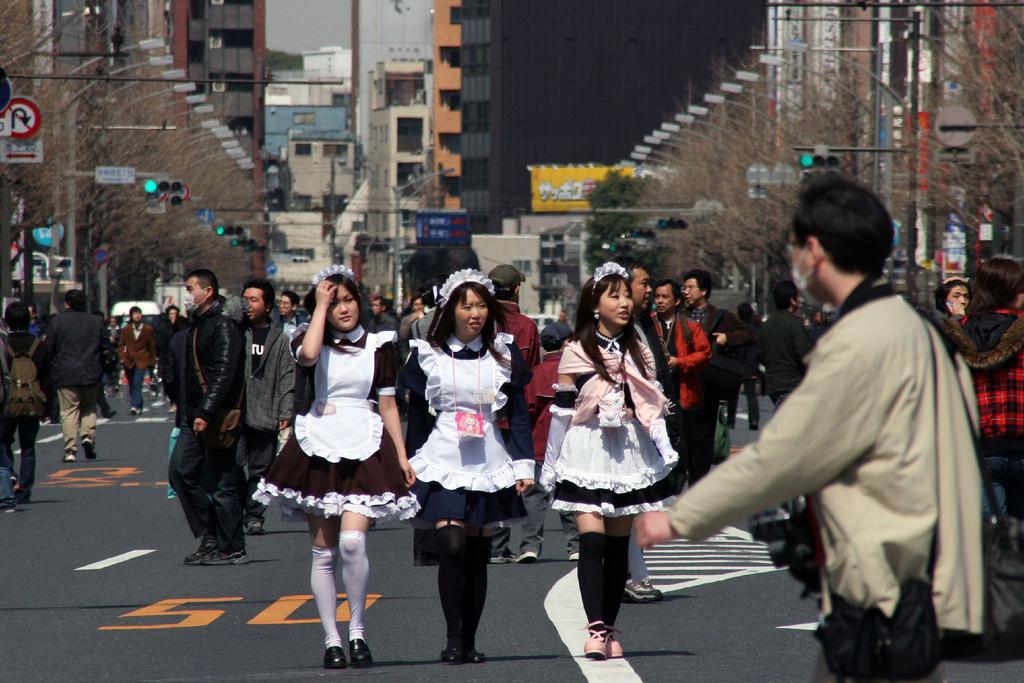 Девчачий день в Токио