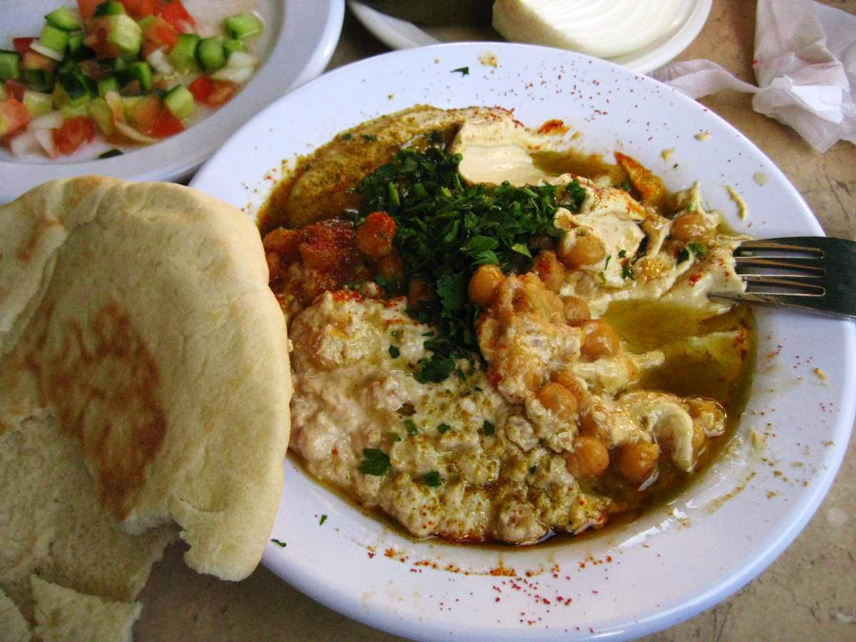 Хумус в  «Абу-Даби»