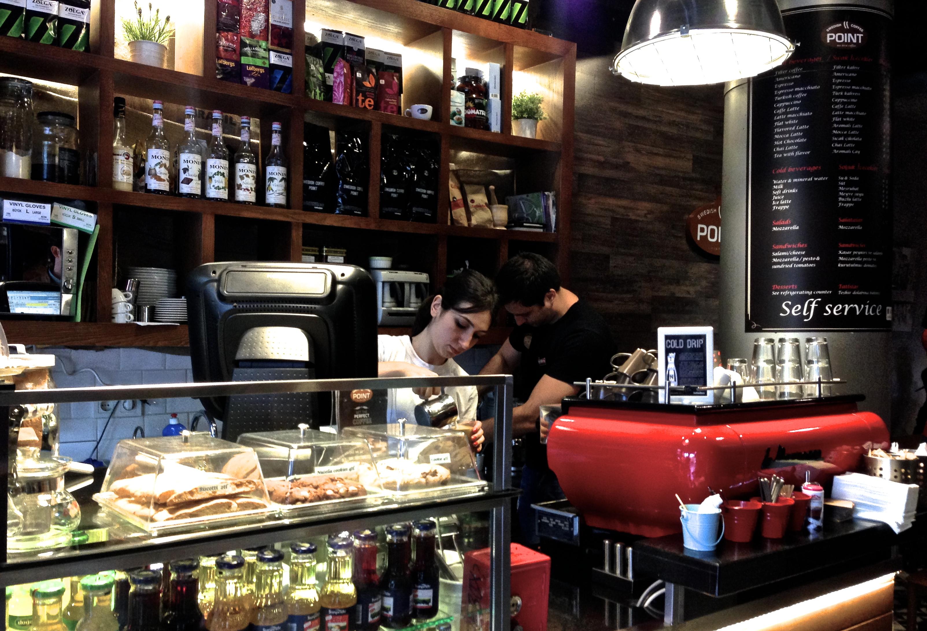Swedish coffee point