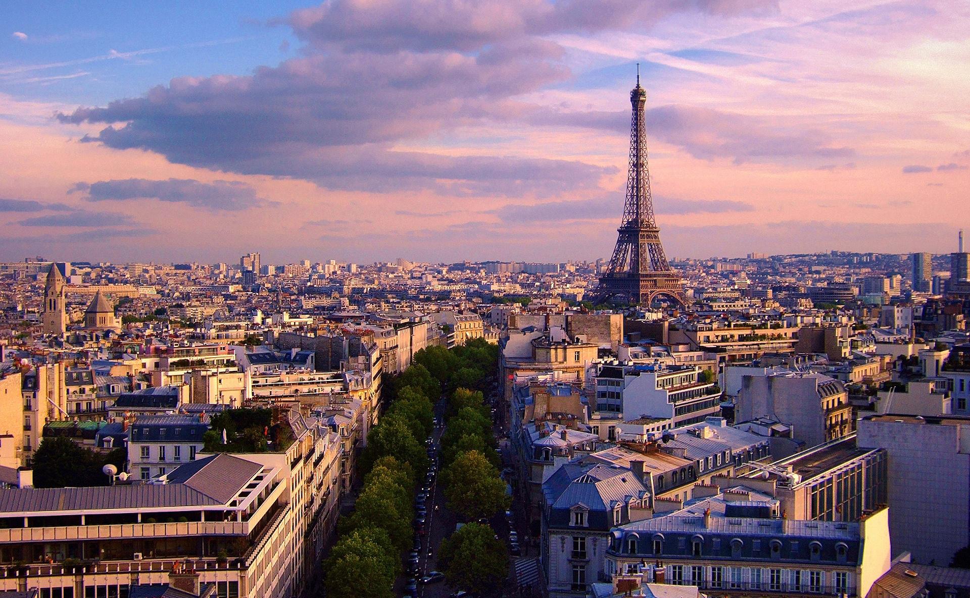 Шик и роскошь в Париже