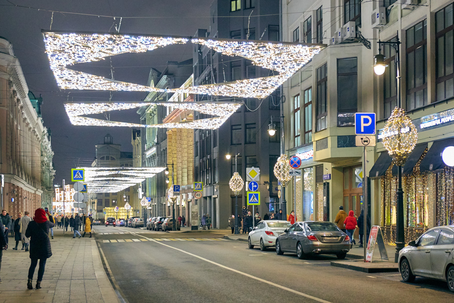 Как в Европе. Московские новогодние маршруты.