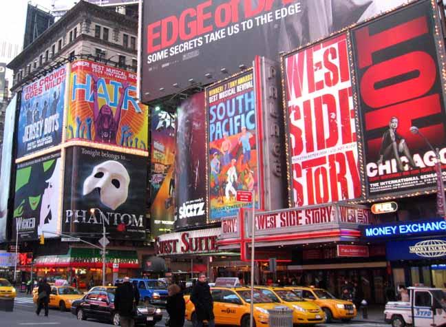 Бродвейские театры
