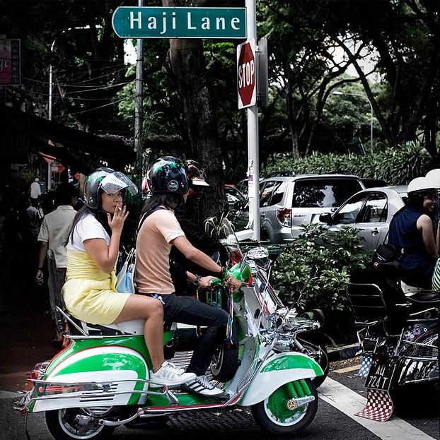 Потусоваться на Arab Street и Haji Lane