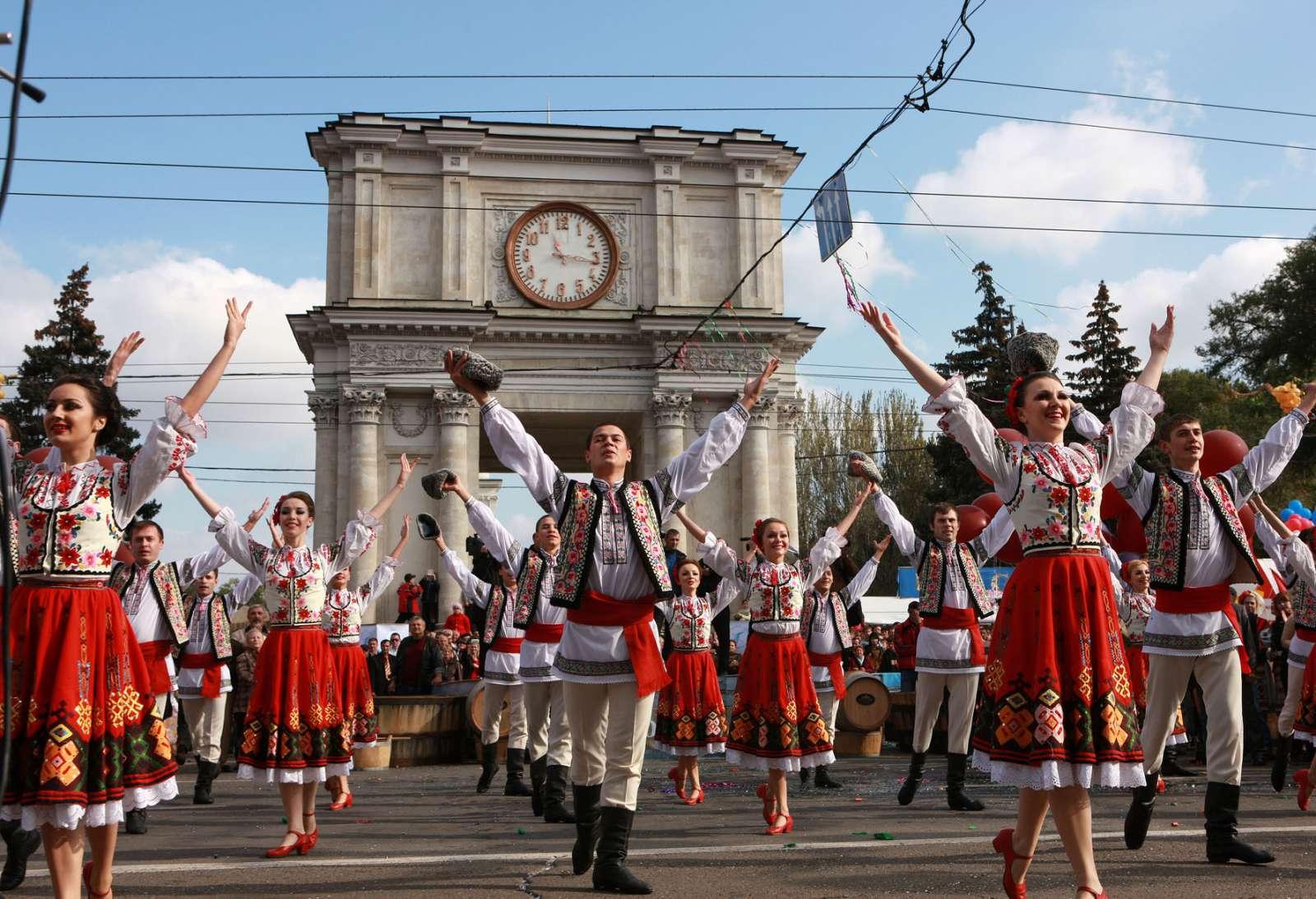 День советского студента в Кишиневе