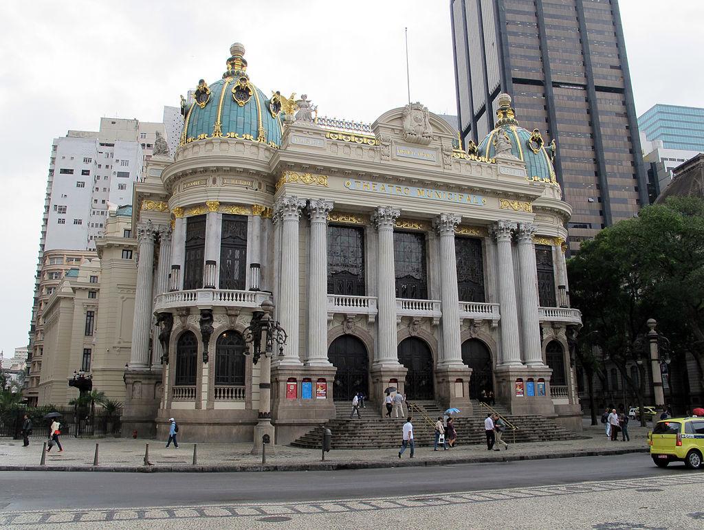 Муниципальной театр Рио-де-Жанейро