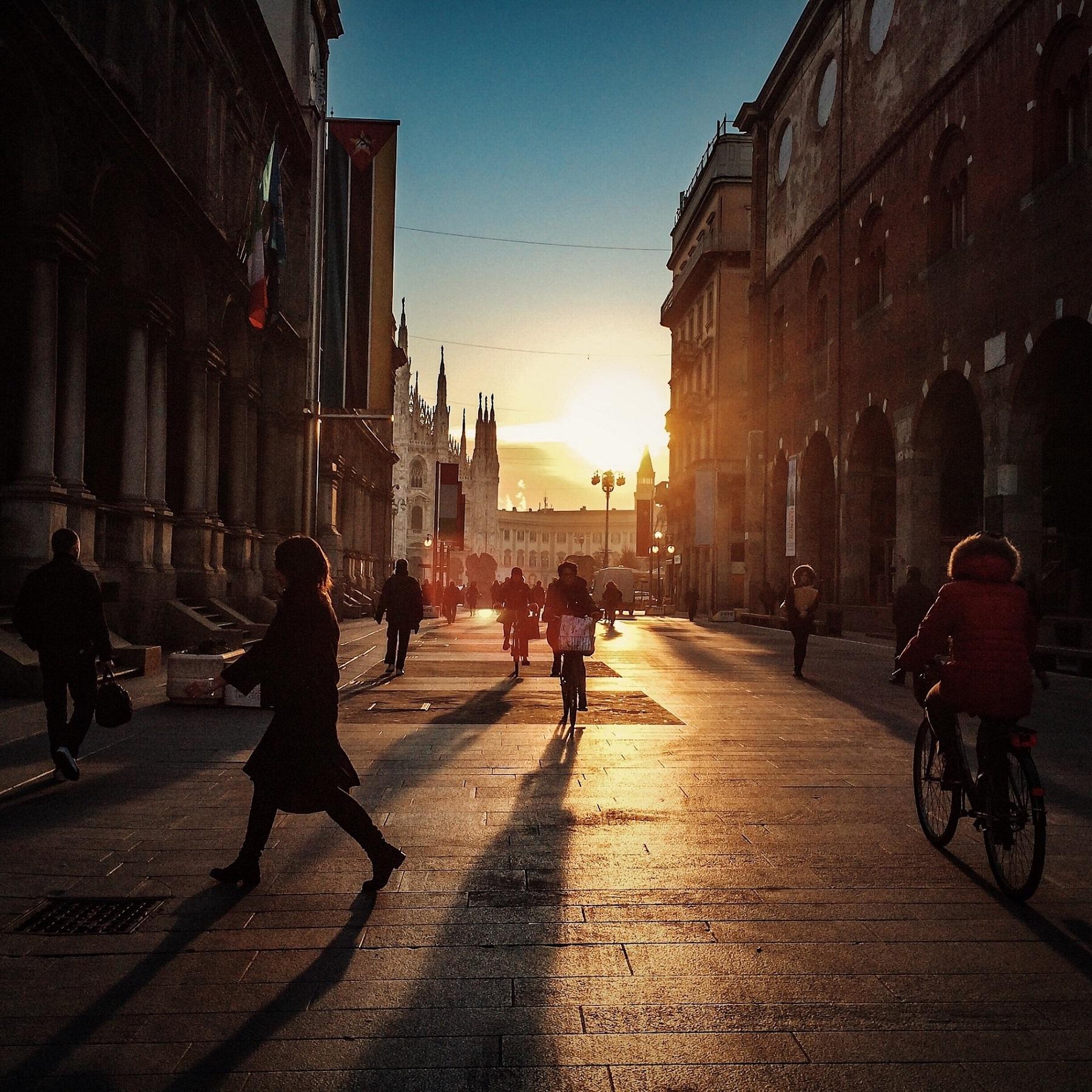 Милан без покупок: Тайная Вечеря и памятник иголке