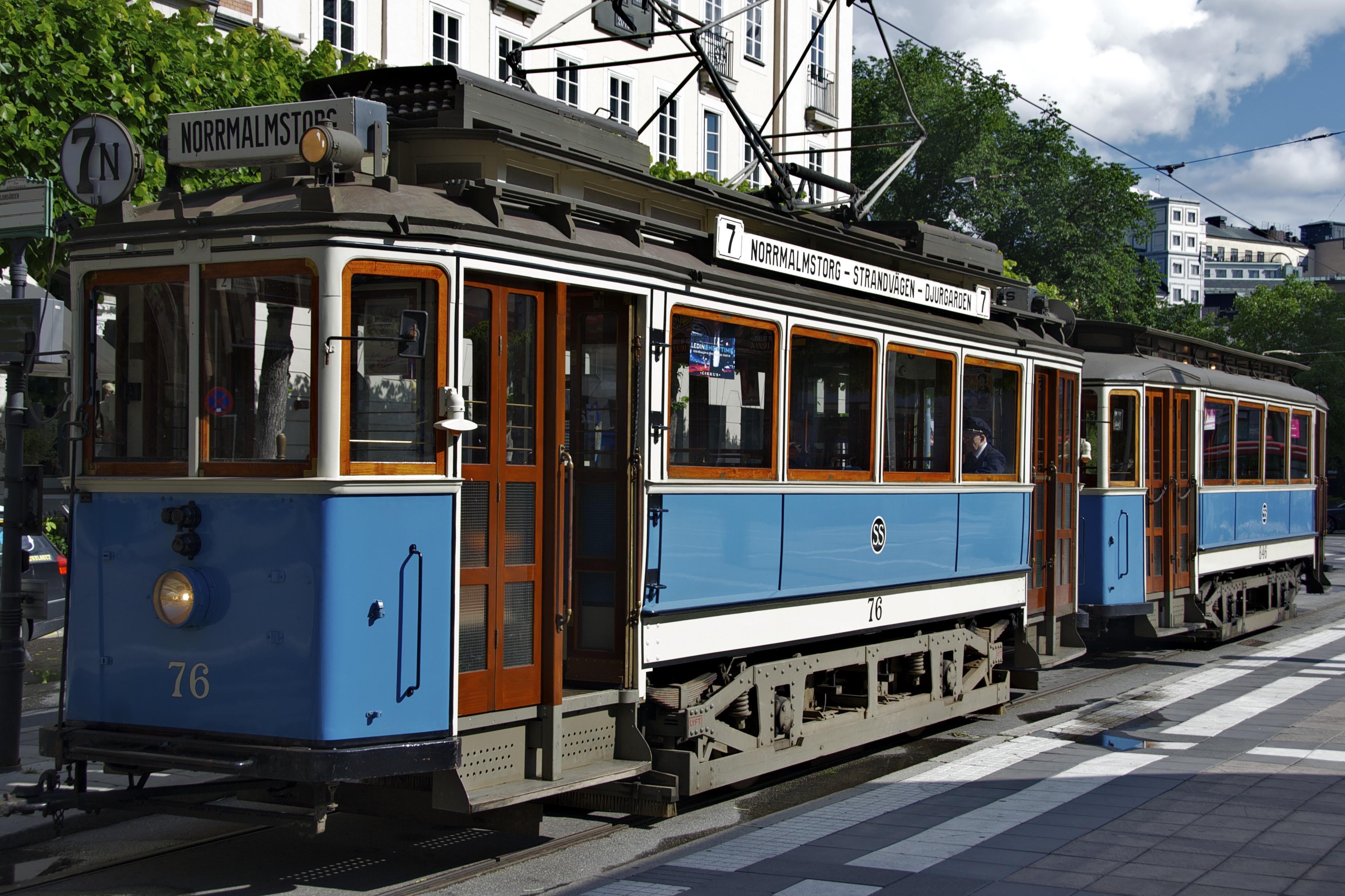Исторический трамвай и City bikes