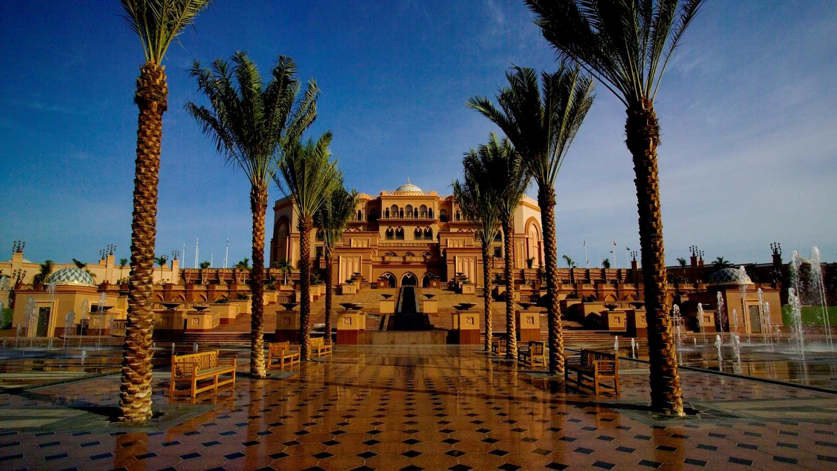 Восточная роскошь в Абу-Даби
