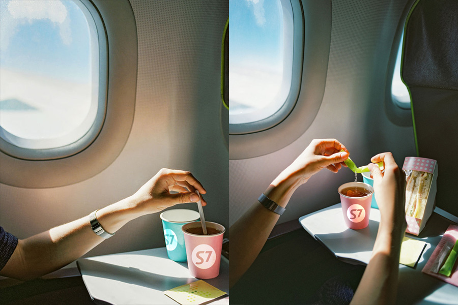 Ешь, летай, люби. Чем кормят на рейсах S7 Airlines