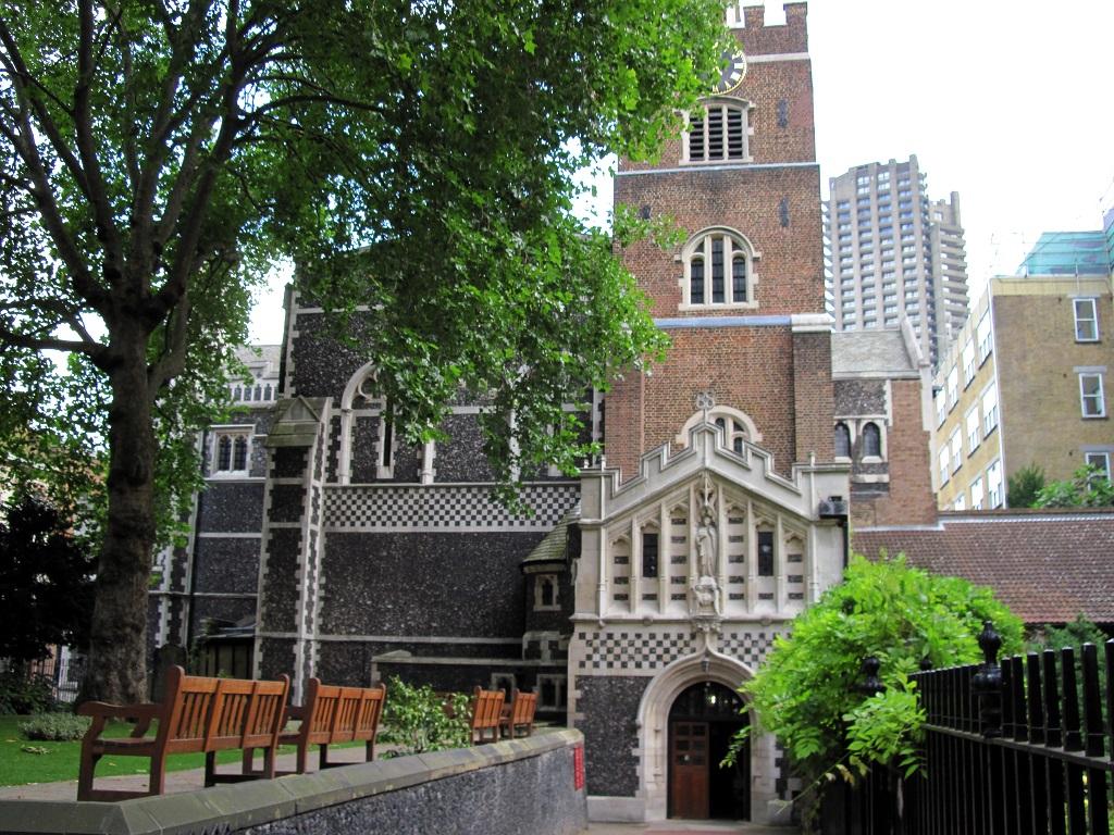 Церковь St Bartholomew the Great