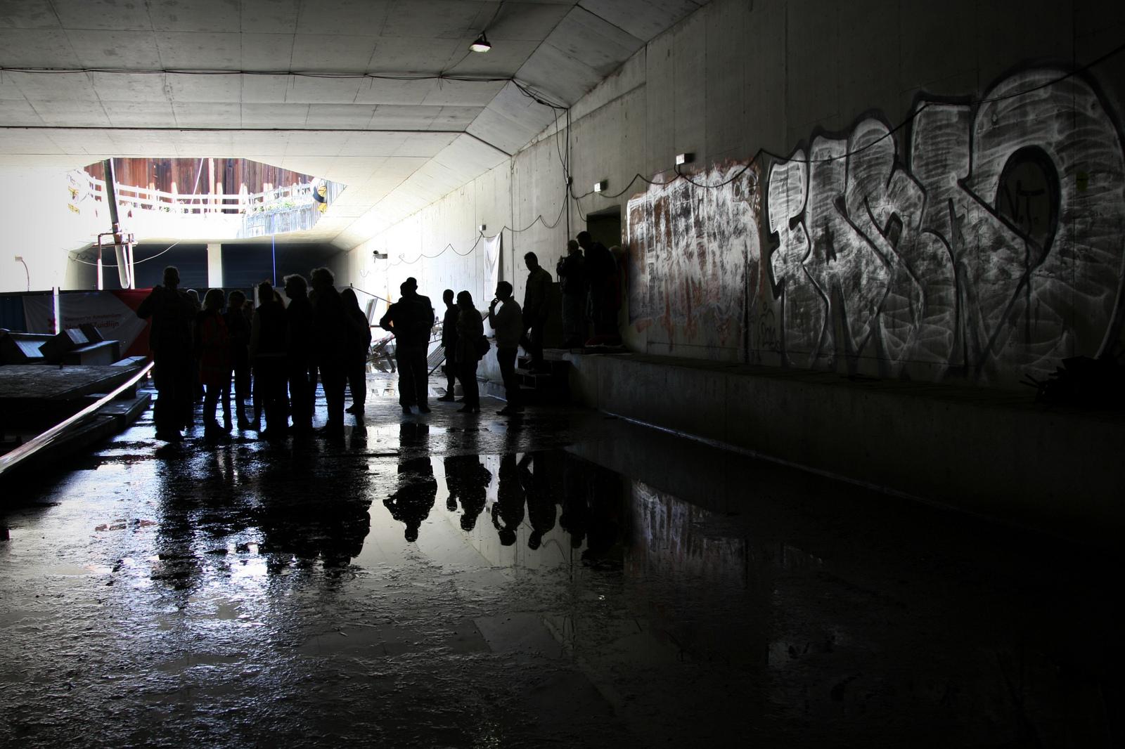 Экскурсии по туннелям строящегося метро