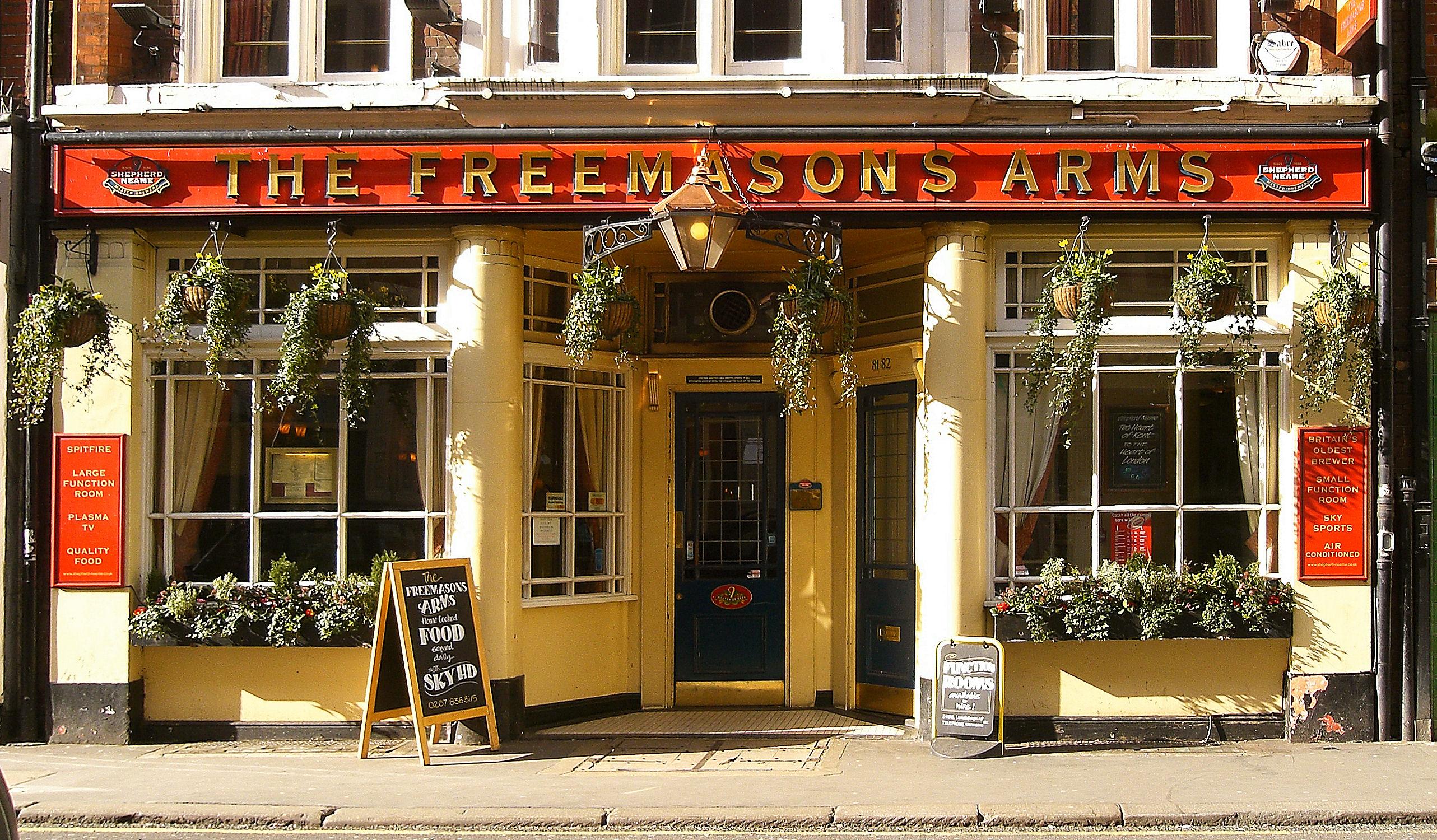 The Freemasons Arms