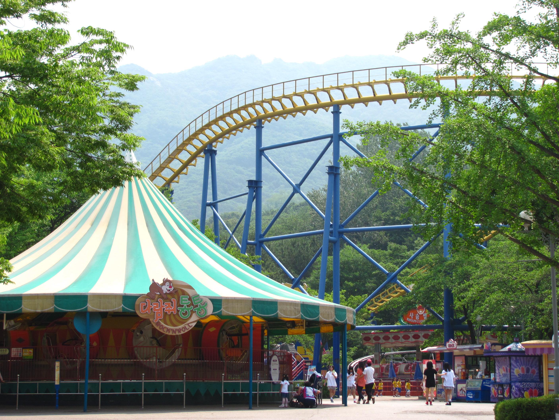 Парк развлечений Seoul Land