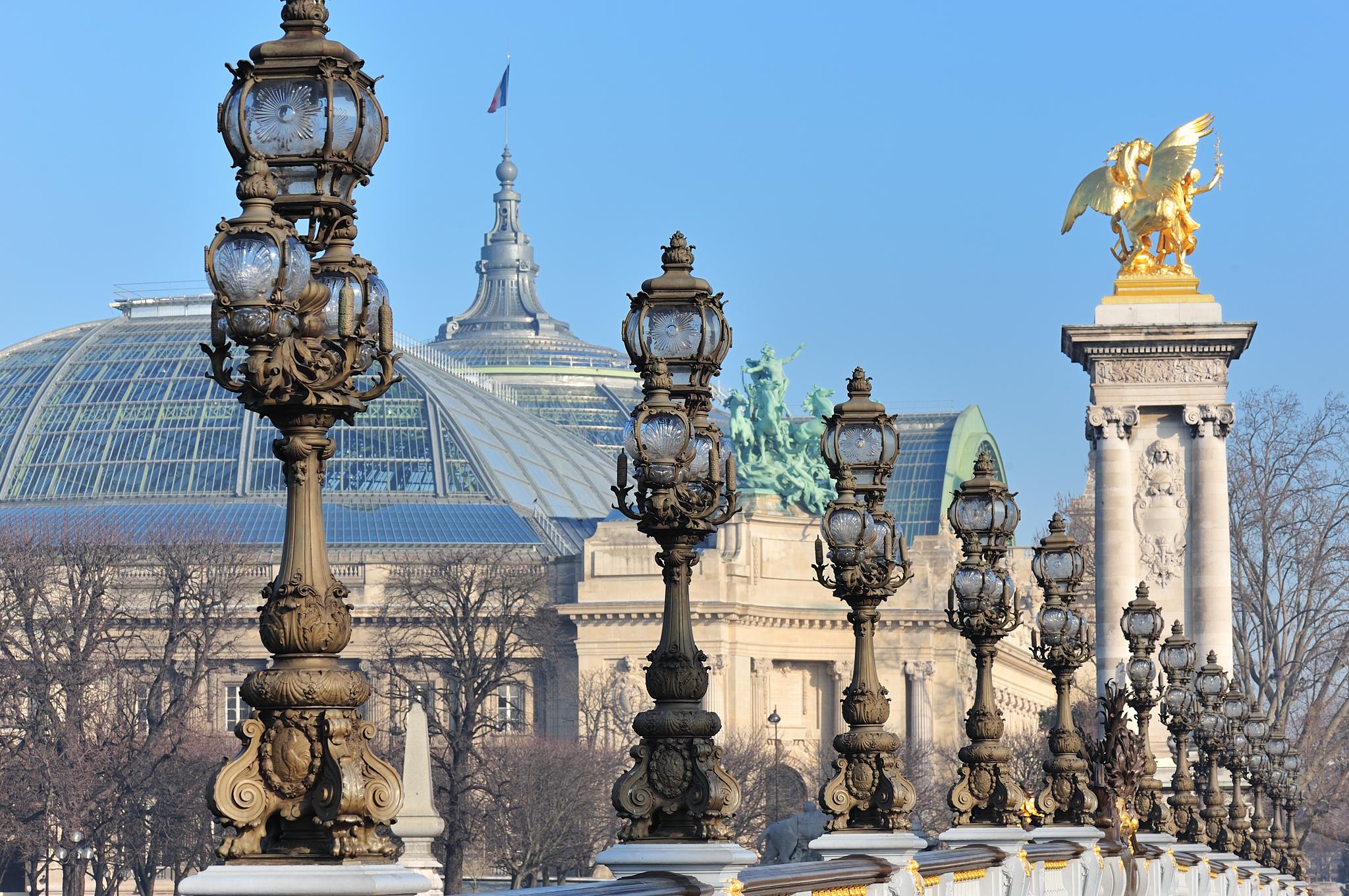 Большой дворец (Grand Palais) и Малый дворец (Petit Palais)