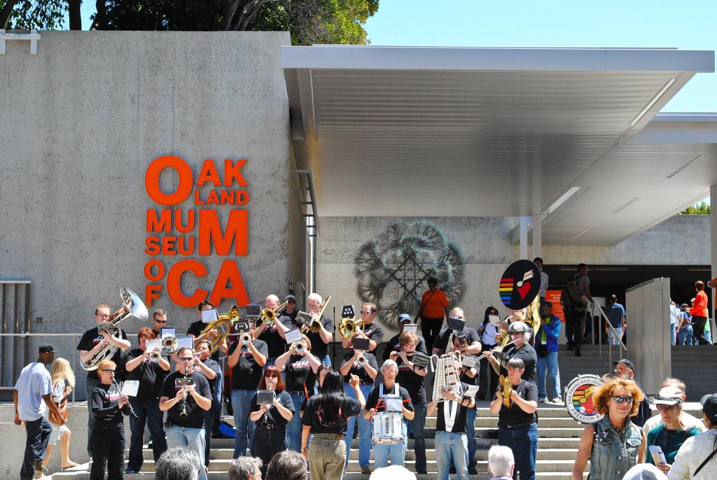 Калифорнийский музей в Окленде