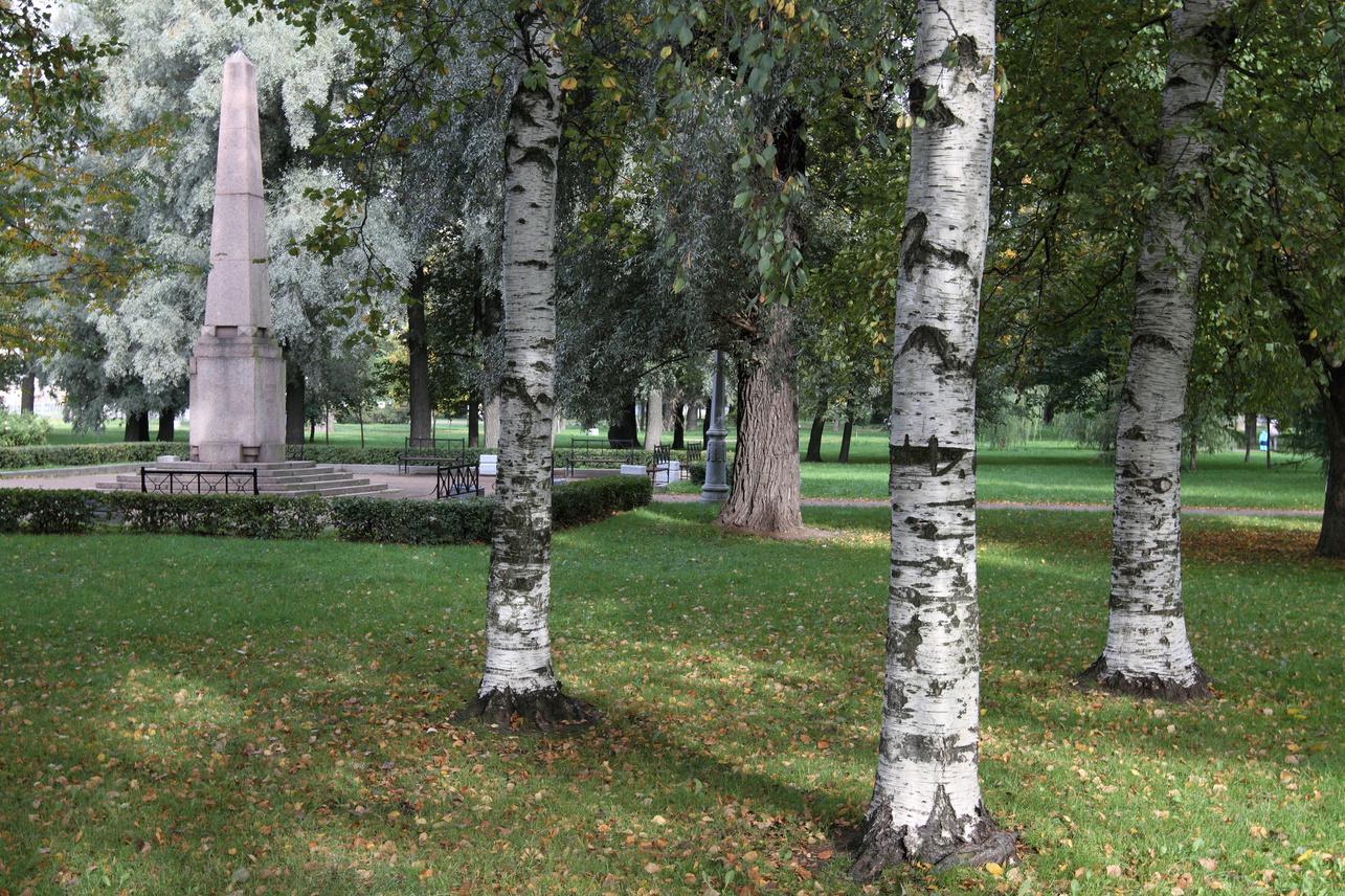 Место дуэли Пушкина