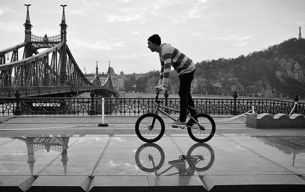 По Будапешту на велосипеде