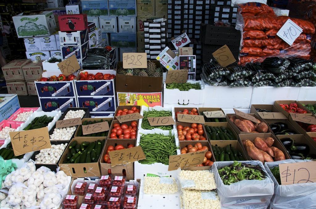 Flemington markets