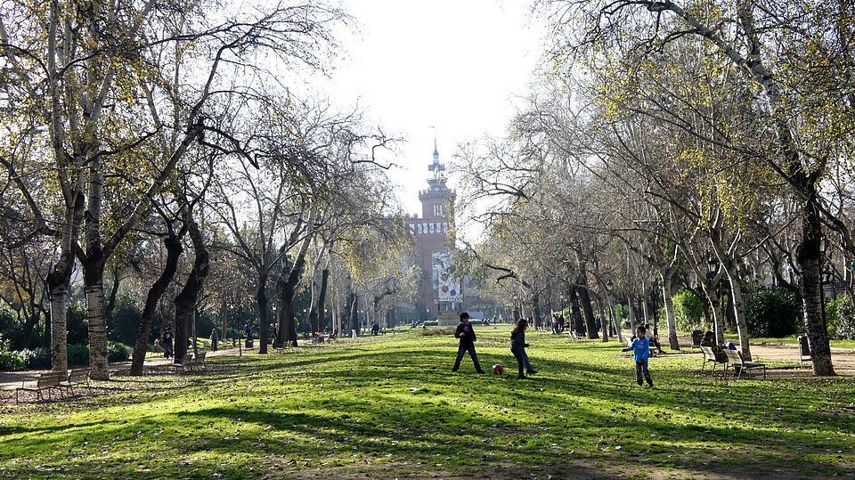 Парк Ciutadella