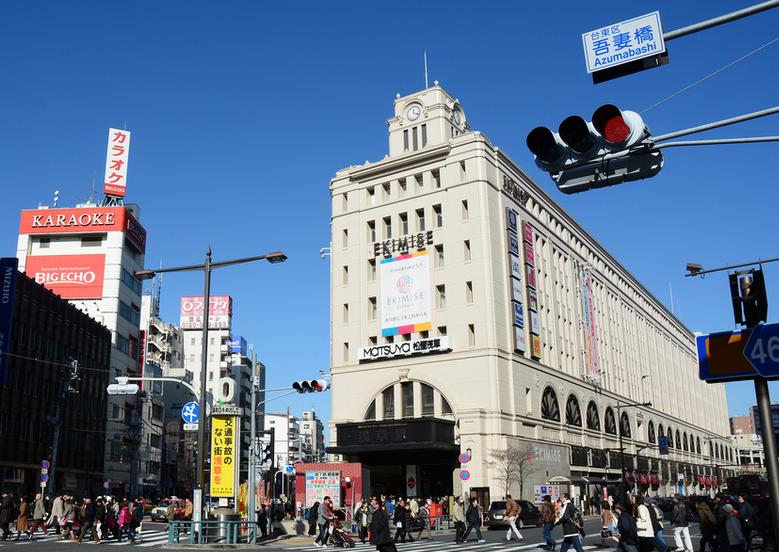 Станция Asakusa