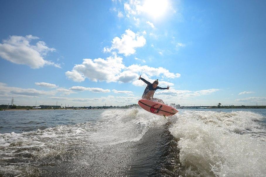 360 над водой. Или как пойти в спорт по любви