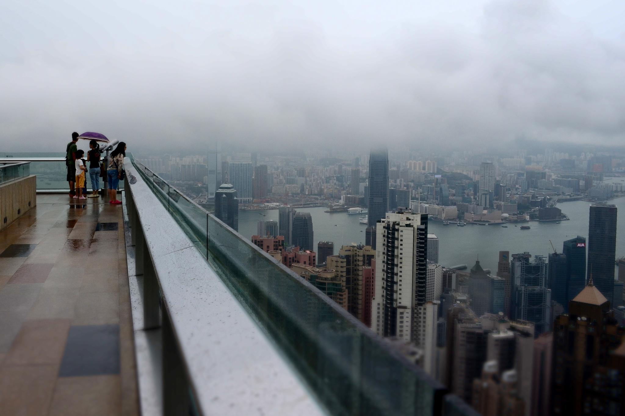 На вершине мира в Гонконге