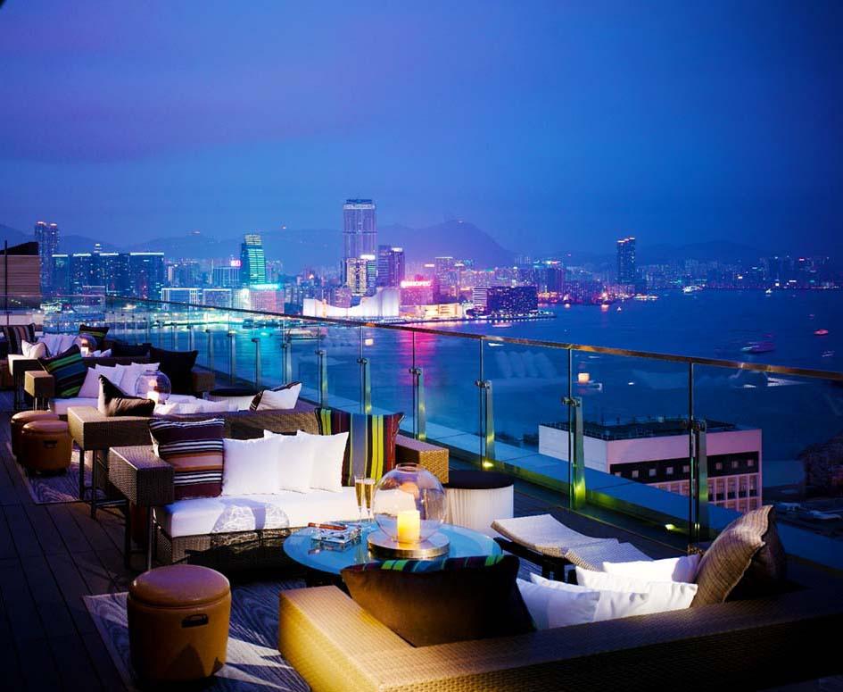 Мартини с Эрл-грэй: бары Гонконга