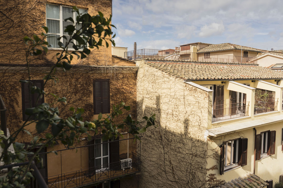 Дом Джо Брэдли на Via Margutta