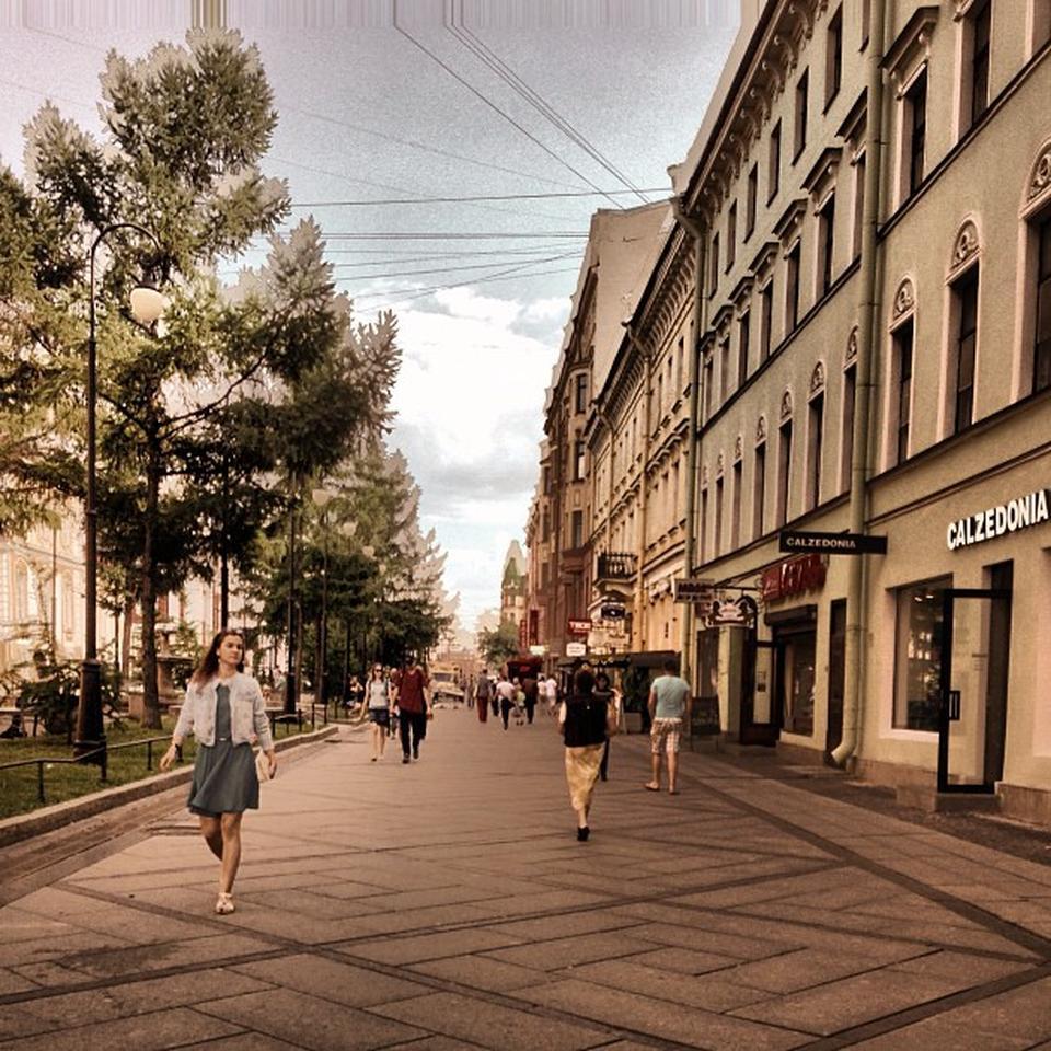 Пешеходная линия Васильевского острова