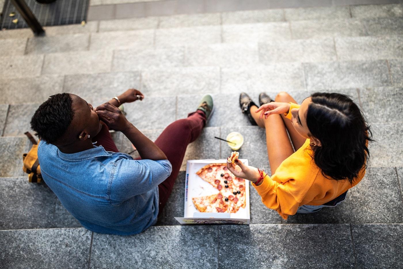 Уличная еда в Пиньето