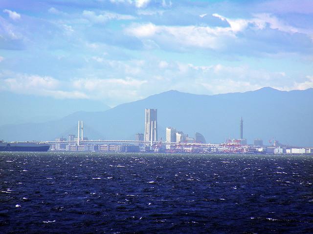 Набережная Йокогамы