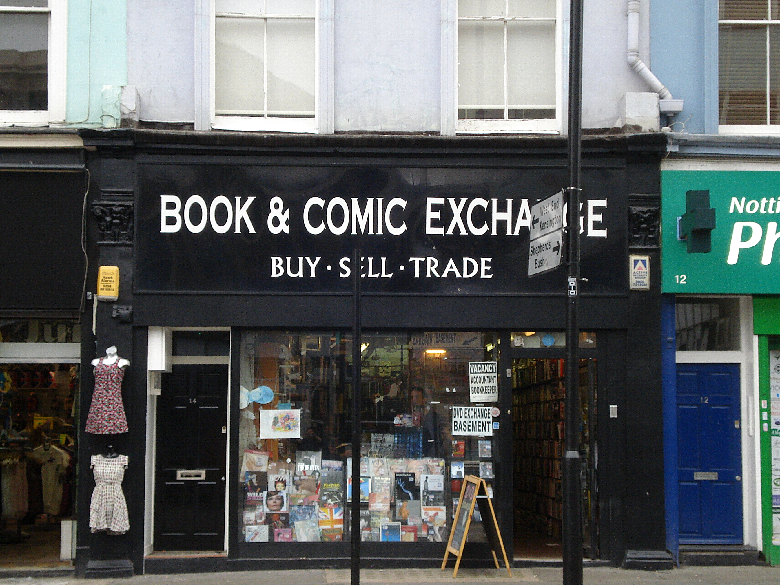 Book and Comic Exchange