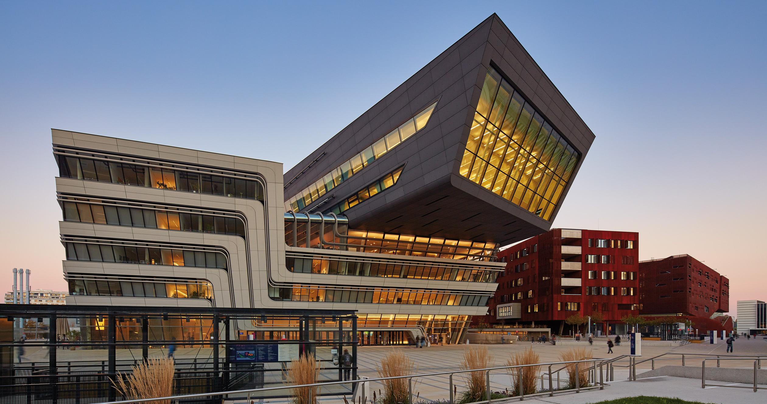 Кампус экономического университета