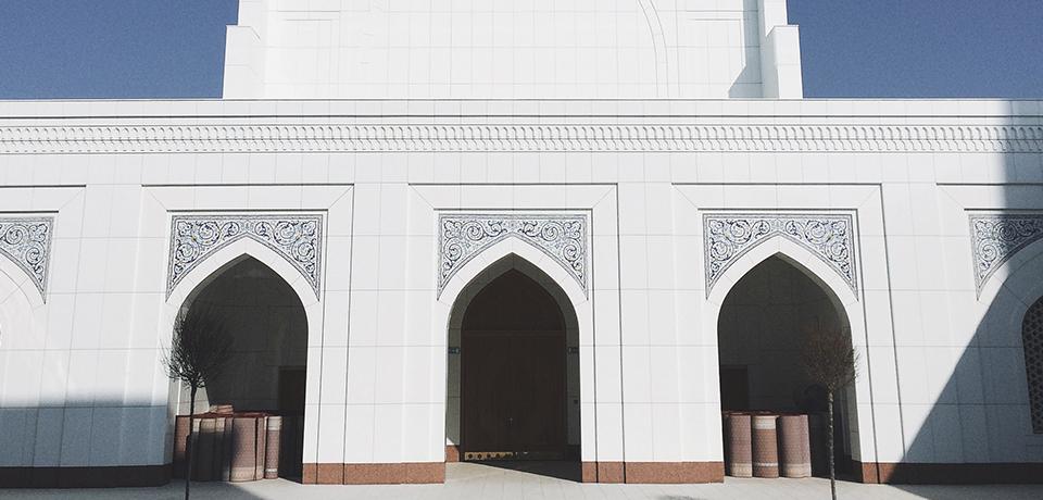 Здание мечети Минор