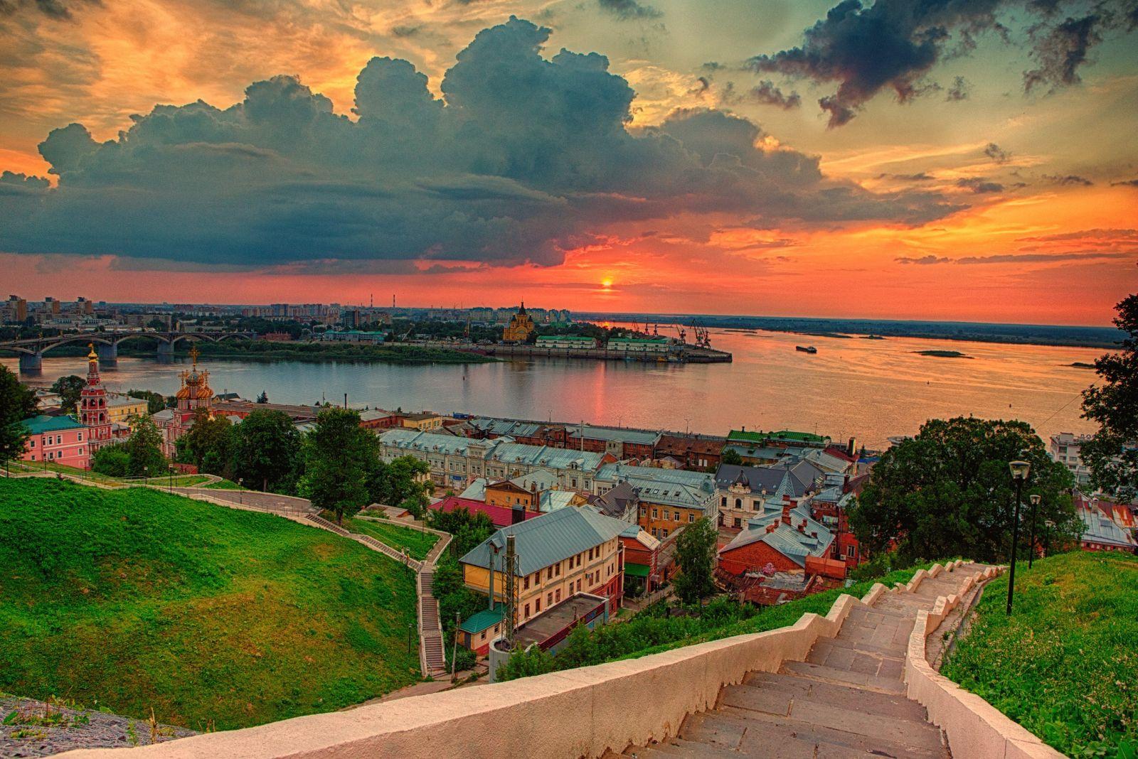 Настоящее и прошлое в Нижнем Новгороде