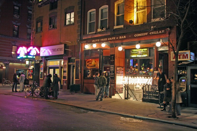 Olive Tree Cafe Comedy Cellar