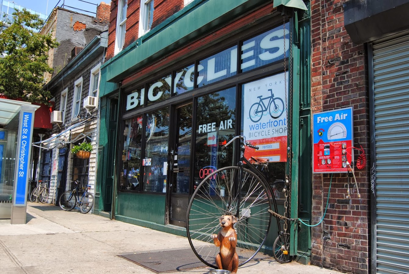 Waterfront Bicycle Shop
