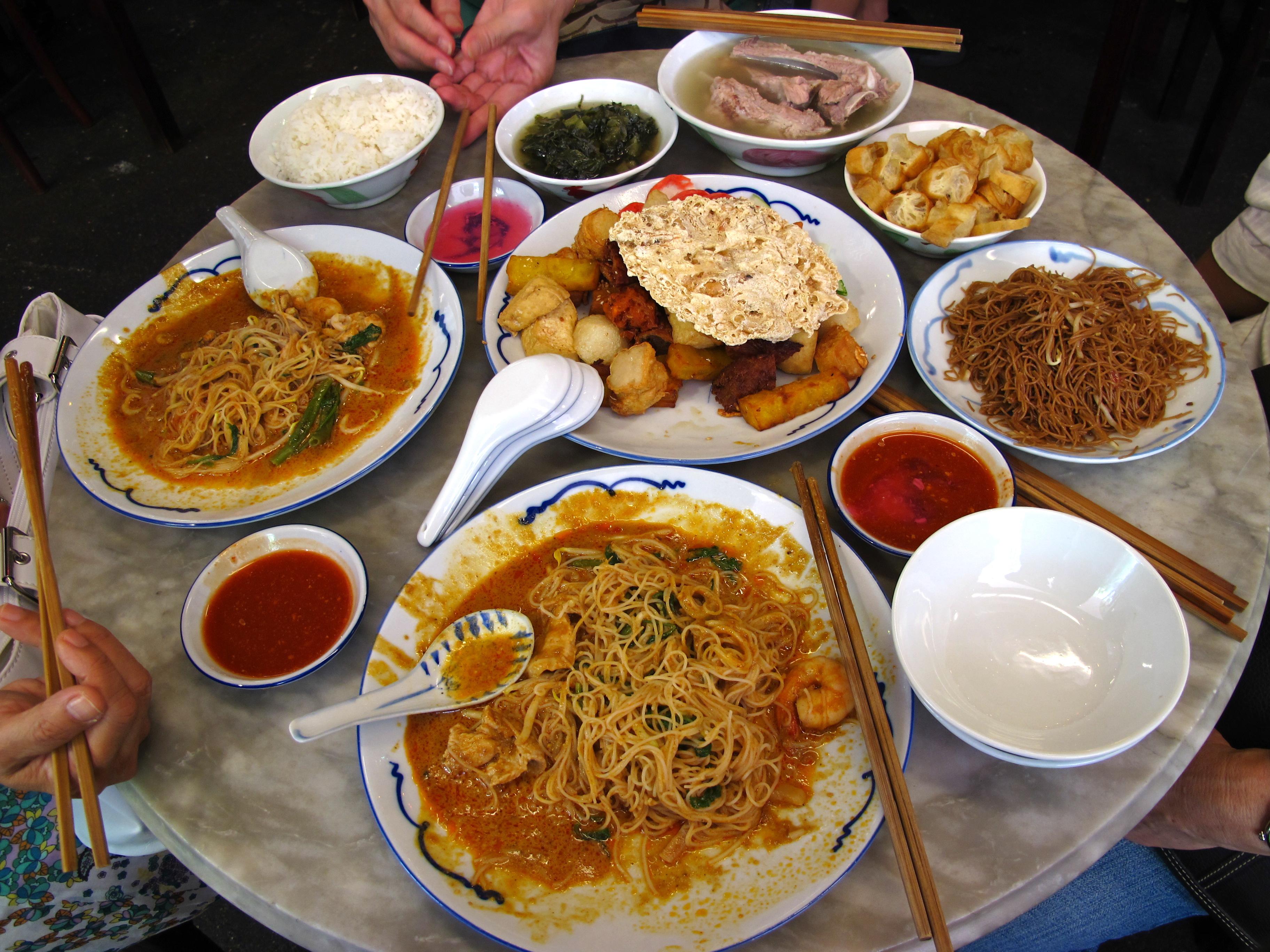 Знакомство с сингапурской кухней