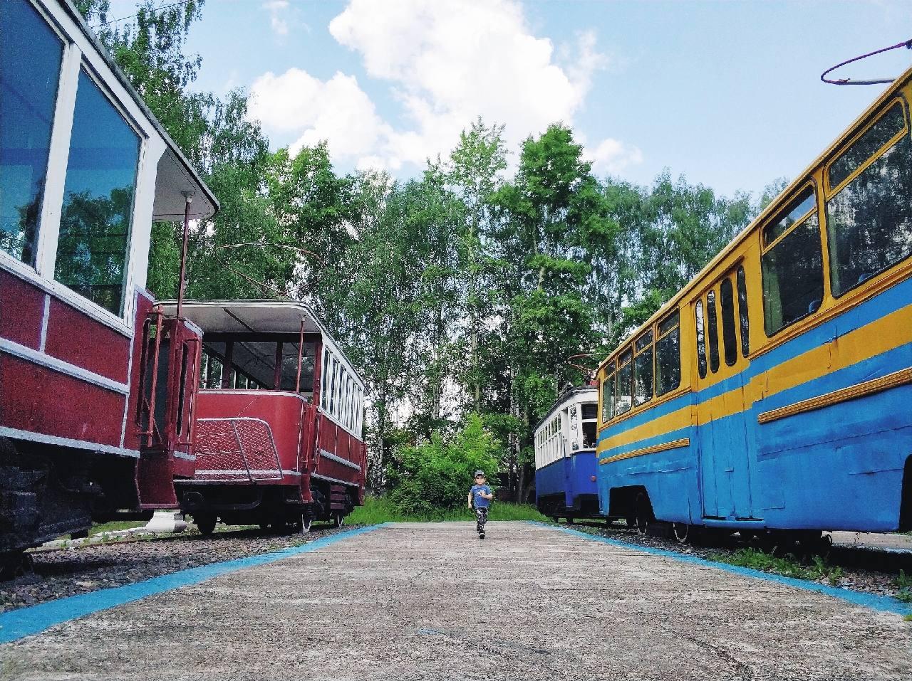 Музей трамваев в Нижнем Новгороде