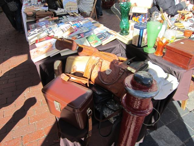 Антикварный рынок на улице Черч
