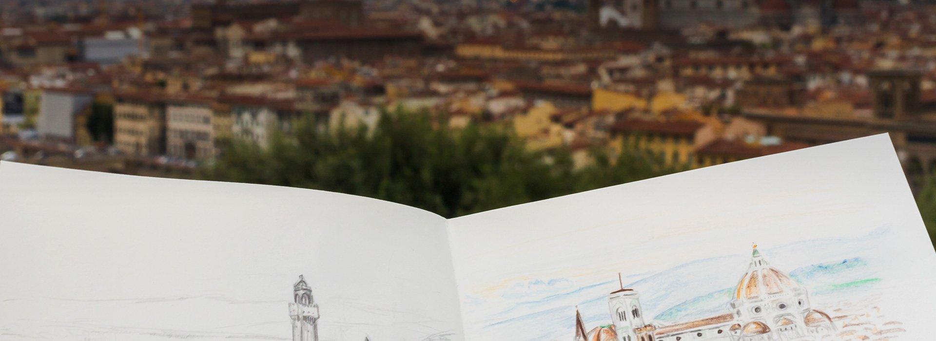 Рисовать города