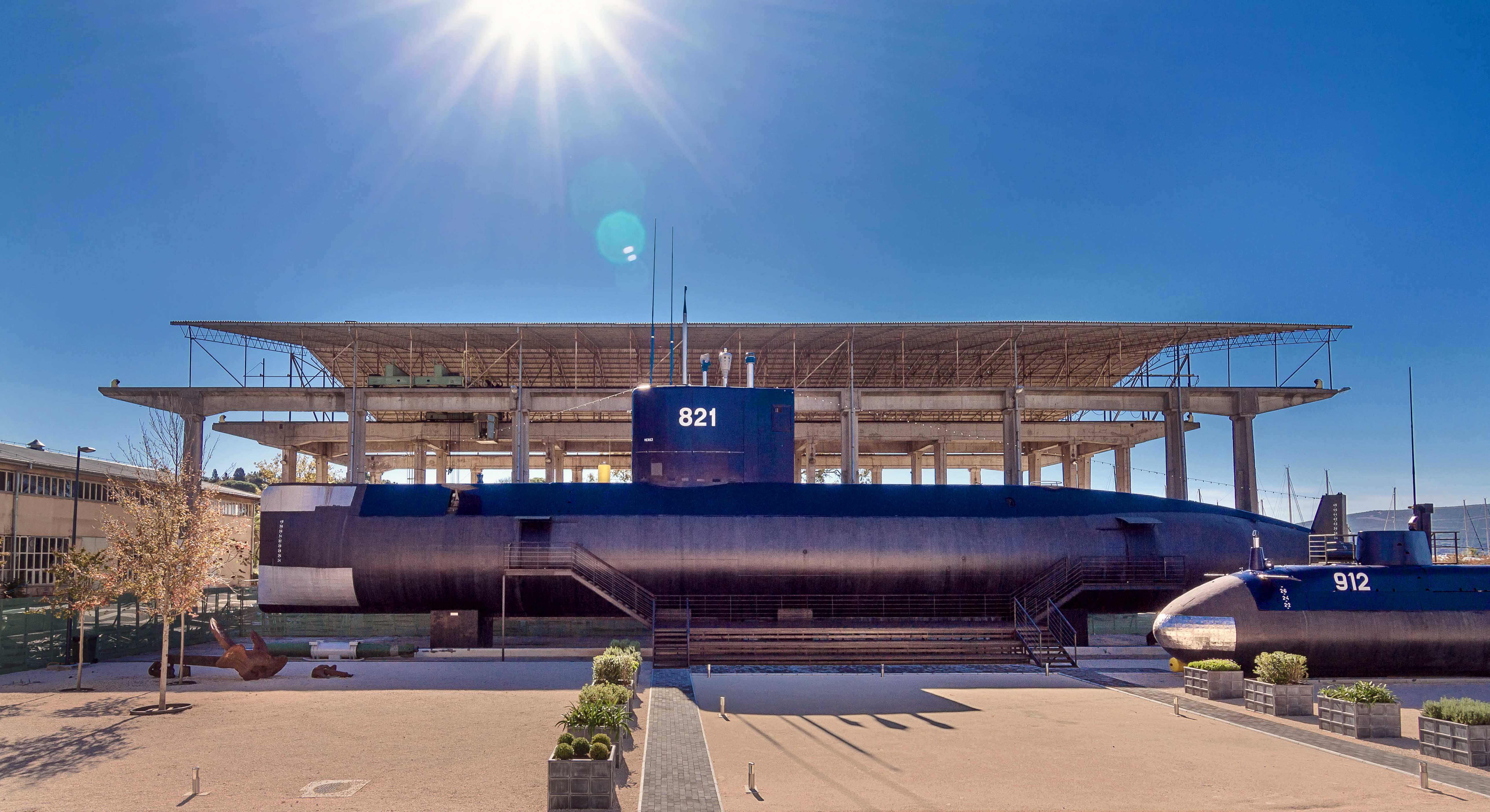Музей морского наследия и подводная лодка