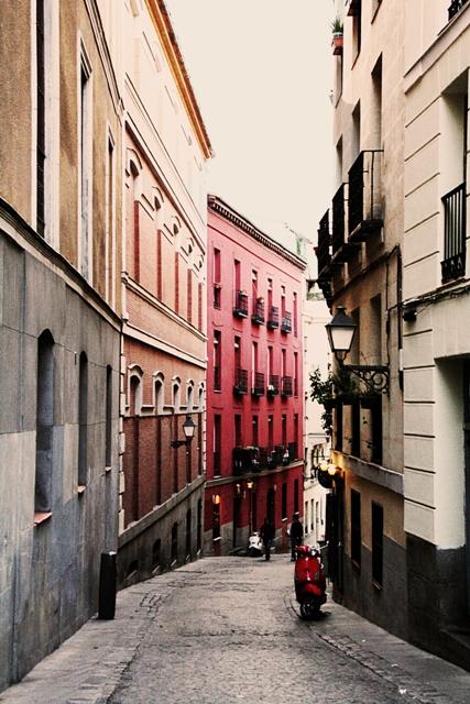 Прогуляться по кварталу Мадрид-де-лос-Аустриас