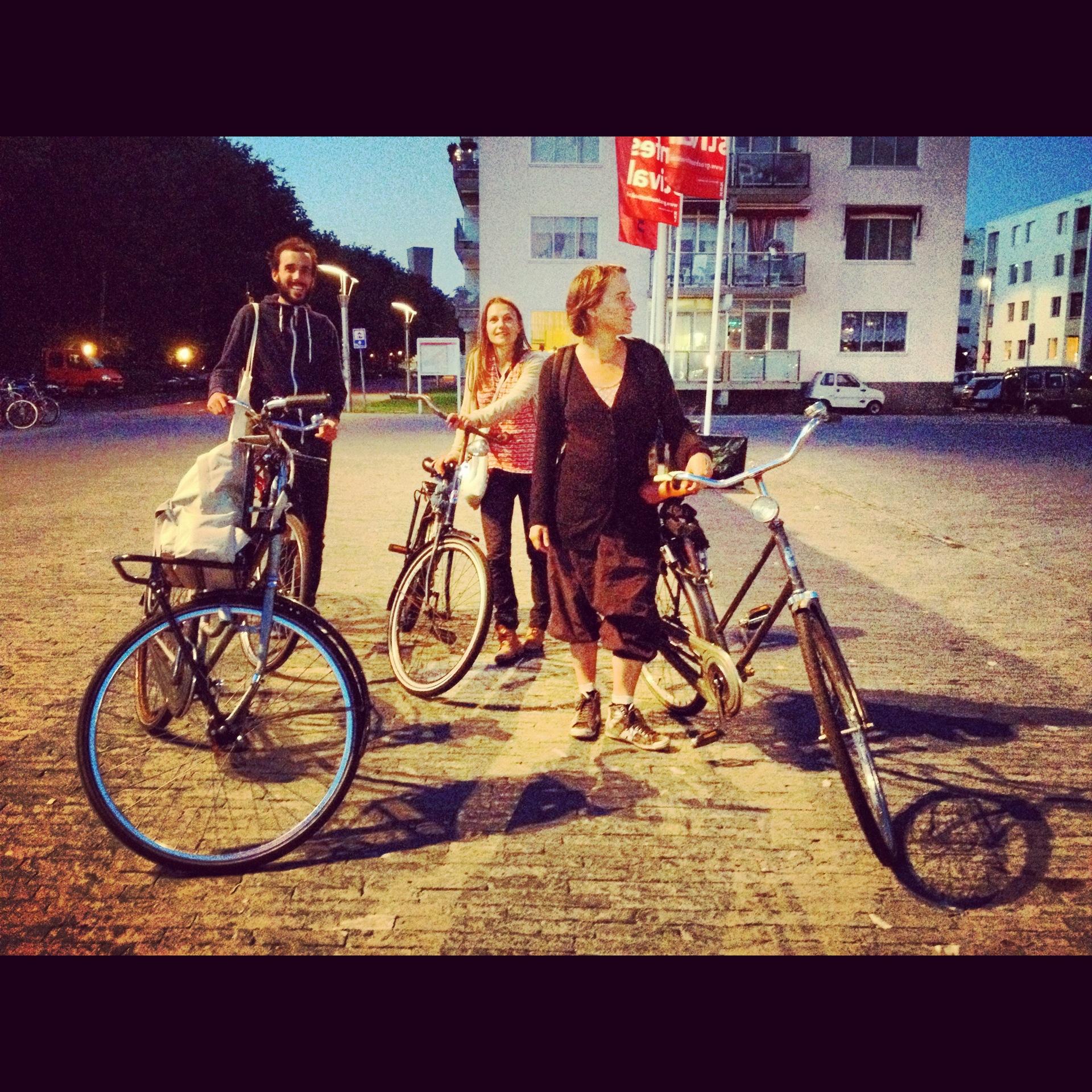 Взять в прокате велосипед