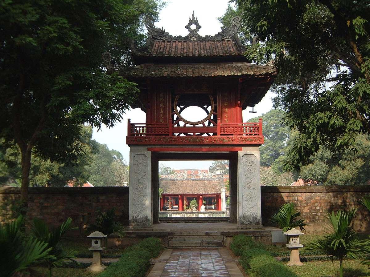 Храм литературы Van Mieu