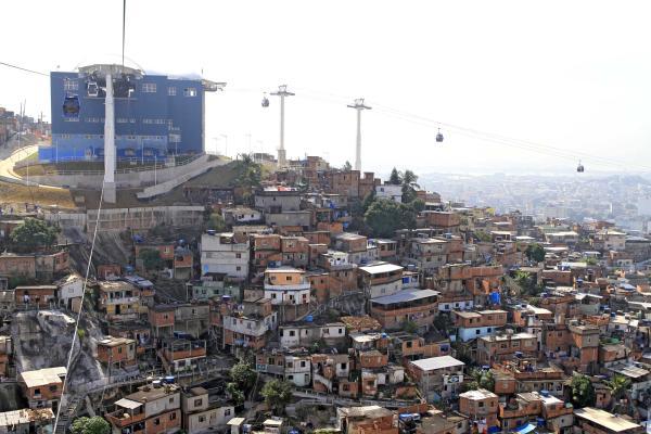 Канатная дорога Teleférico Do Alemão