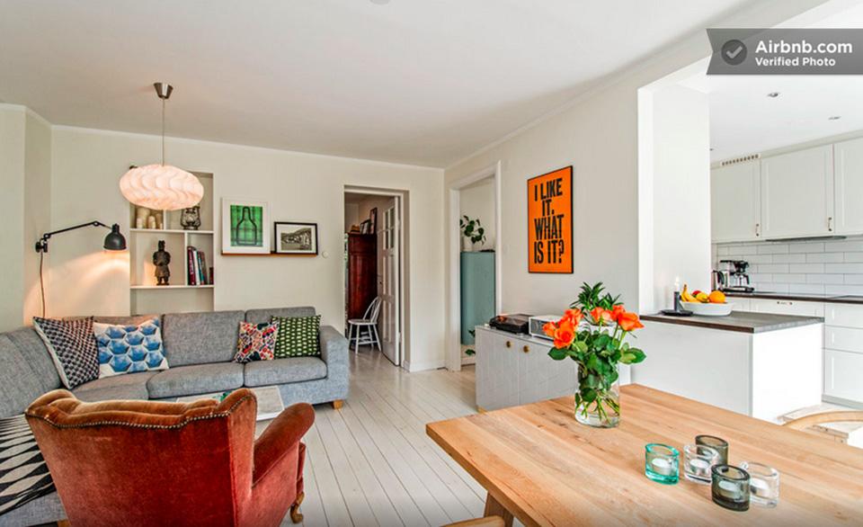 Отличные апартаменты в центре Стокгольма